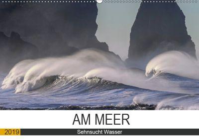 Am Meer. Sehnsucht Wasser (Wandkalender 2019 DIN A2 quer), Rose Hurley