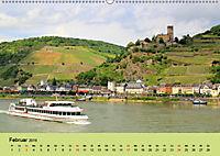 Am Mittelrhein entlang - Von Bacharach nach Rüdesheim (Wandkalender 2019 DIN A2 quer) - Produktdetailbild 2