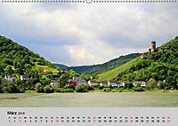 Am Mittelrhein entlang - Von Bacharach nach Rüdesheim (Wandkalender 2019 DIN A2 quer) - Produktdetailbild 3
