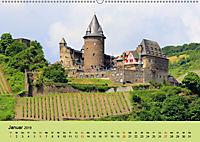 Am Mittelrhein entlang - Von Bacharach nach Rüdesheim (Wandkalender 2019 DIN A2 quer) - Produktdetailbild 1