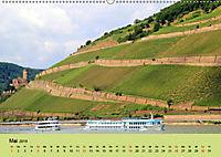Am Mittelrhein entlang - Von Bacharach nach Rüdesheim (Wandkalender 2019 DIN A2 quer) - Produktdetailbild 5