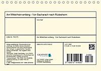 Am Mittelrhein entlang - Von Bacharach nach Rüdesheim (Tischkalender 2019 DIN A5 quer) - Produktdetailbild 13