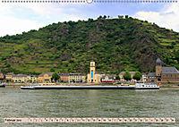 Am Mittelrhein - St. Goar und St. Goarshausen (Wandkalender 2019 DIN A2 quer) - Produktdetailbild 2