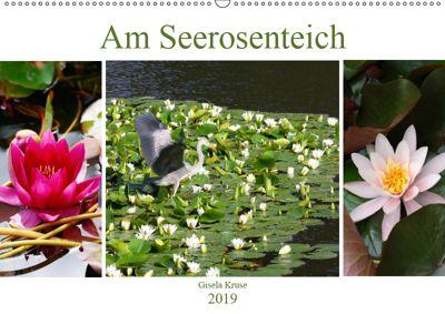 Am Seerosenteich (Wandkalender 2019 DIN A2 quer), Gisela Kruse