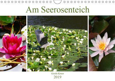 Am Seerosenteich (Wandkalender 2019 DIN A4 quer), Gisela Kruse