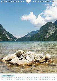 Am Wasser spazieren - Eindrücke von bayerischen Seen im Wandel der Jahreszeiten (Wandkalender 2019 DIN A4 hoch) - Produktdetailbild 2