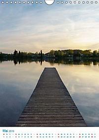 Am Wasser spazieren - Eindrücke von bayerischen Seen im Wandel der Jahreszeiten (Wandkalender 2019 DIN A4 hoch) - Produktdetailbild 3