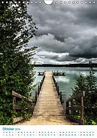 Am Wasser spazieren - Eindrücke von bayerischen Seen im Wandel der Jahreszeiten (Wandkalender 2019 DIN A4 hoch) - Produktdetailbild 11