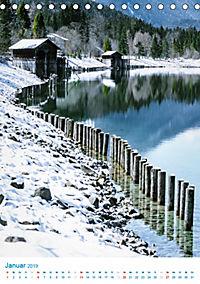 Am Wasser spazieren - Eindrücke von bayerischen Seen im Wandel der Jahreszeiten (Tischkalender 2019 DIN A5 hoch) - Produktdetailbild 1