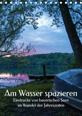 Am Wasser spazieren - Eindrücke von bayerischen Seen im Wandel der Jahreszeiten (Tischkalender 2019 DIN A5 hoch), Aleksandra Hadzic