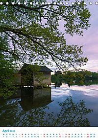 Am Wasser spazieren - Eindrücke von bayerischen Seen im Wandel der Jahreszeiten (Tischkalender 2019 DIN A5 hoch) - Produktdetailbild 4