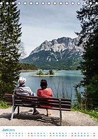 Am Wasser spazieren - Eindrücke von bayerischen Seen im Wandel der Jahreszeiten (Tischkalender 2019 DIN A5 hoch) - Produktdetailbild 6