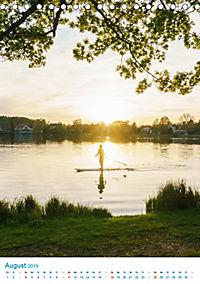 Am Wasser spazieren - Eindrücke von bayerischen Seen im Wandel der Jahreszeiten (Tischkalender 2019 DIN A5 hoch) - Produktdetailbild 8