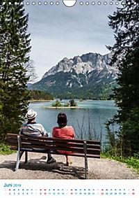 Am Wasser spazieren - Eindrücke von bayerischen Seen im Wandel der Jahreszeiten (Wandkalender 2019 DIN A4 hoch) - Produktdetailbild 6