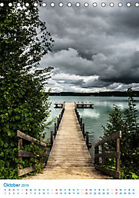 Am Wasser spazieren - Eindrücke von bayerischen Seen im Wandel der Jahreszeiten (Tischkalender 2019 DIN A5 hoch) - Produktdetailbild 10