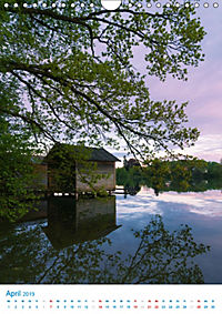Am Wasser spazieren - Eindrücke von bayerischen Seen im Wandel der Jahreszeiten (Wandkalender 2019 DIN A4 hoch) - Produktdetailbild 4