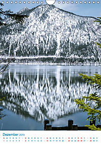 Am Wasser spazieren - Eindrücke von bayerischen Seen im Wandel der Jahreszeiten (Wandkalender 2019 DIN A4 hoch) - Produktdetailbild 12