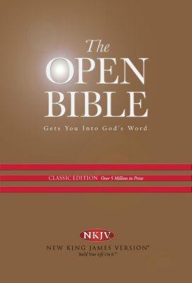 AMACOM: NKJV, Open Bible, eBook, Thomas Nelson