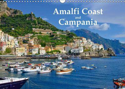 Amalfi Coast and Campania (Wall Calendar 2019 DIN A3 Landscape), LianeM