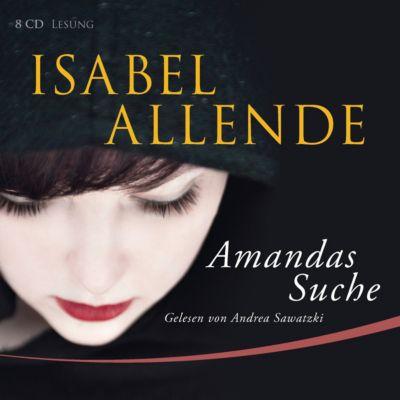 Amandas Suche, 8 Audio-CDs, Isabel Allende