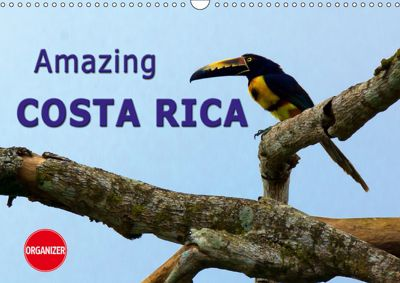 Amazing Costa Rica (Wall Calendar 2019 DIN A3 Landscape), Andreas Schoen