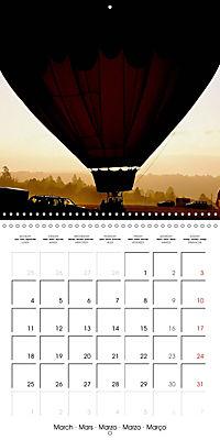 Amazing hot-air balloons (Wall Calendar 2019 300 × 300 mm Square) - Produktdetailbild 3