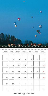 Amazing hot-air balloons (Wall Calendar 2019 300 × 300 mm Square) - Produktdetailbild 4