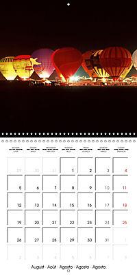 Amazing hot-air balloons (Wall Calendar 2019 300 × 300 mm Square) - Produktdetailbild 8