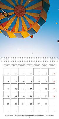 Amazing hot-air balloons (Wall Calendar 2019 300 × 300 mm Square) - Produktdetailbild 11