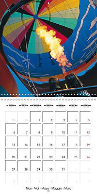Amazing hot-air balloons (Wall Calendar 2019 300 × 300 mm Square) - Produktdetailbild 5