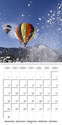 Amazing hot-air balloons (Wall Calendar 2019 300 × 300 mm Square) - Produktdetailbild 9