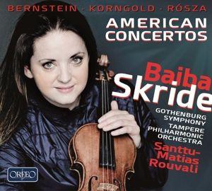 American Concertos, Baiba Skride, Santtu-Matias Rouvali, Tampere Po