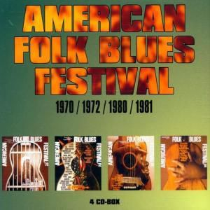 American Folk Blues Festival 1970-81, Diverse Interpreten