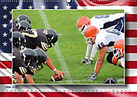 American Football - Kickoff (Wandkalender 2019 DIN A2 quer) - Produktdetailbild 5