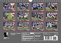 American Football - Kickoff (Wandkalender 2019 DIN A4 quer) - Produktdetailbild 13