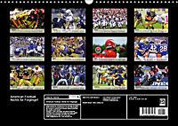 American Football. Nichts für Feiglinge! (Wandkalender 2019 DIN A3 quer) - Produktdetailbild 13