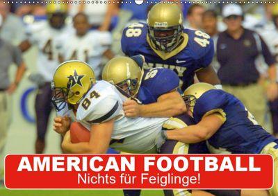 American Football. Nichts für Feiglinge! (Wandkalender 2019 DIN A2 quer), Elisabeth Stanzer