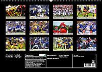 American Football. Nichts für Feiglinge! (Wandkalender 2019 DIN A2 quer) - Produktdetailbild 13