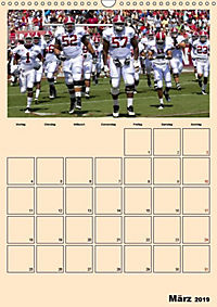 American Football. Rau, spannend, kraftvoll (Wandkalender 2019 DIN A3 hoch) - Produktdetailbild 3