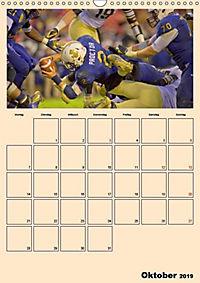 American Football. Rau, spannend, kraftvoll (Wandkalender 2019 DIN A3 hoch) - Produktdetailbild 10
