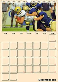 American Football. Rau, spannend, kraftvoll (Wandkalender 2019 DIN A4 hoch) - Produktdetailbild 12