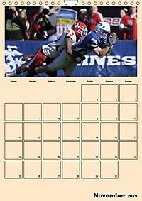 American Football. Rau, spannend, kraftvoll (Wandkalender 2019 DIN A4 hoch) - Produktdetailbild 11