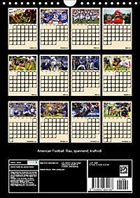 American Football. Rau, spannend, kraftvoll (Wandkalender 2019 DIN A4 hoch) - Produktdetailbild 13