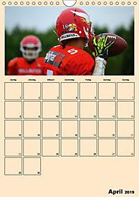 American Football. Rau, spannend, kraftvoll (Wandkalender 2019 DIN A4 hoch) - Produktdetailbild 4