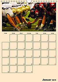 American Football. Rau, spannend, kraftvoll (Wandkalender 2019 DIN A4 hoch) - Produktdetailbild 1