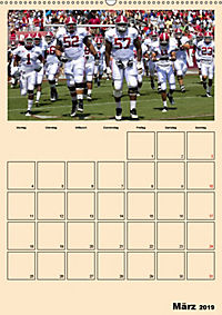American Football. Rau, spannend, kraftvoll (Wandkalender 2019 DIN A2 hoch) - Produktdetailbild 3