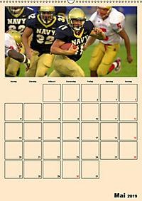 American Football. Rau, spannend, kraftvoll (Wandkalender 2019 DIN A2 hoch) - Produktdetailbild 5
