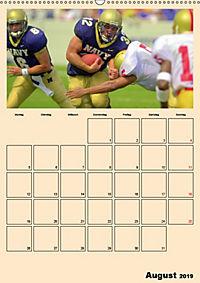 American Football. Rau, spannend, kraftvoll (Wandkalender 2019 DIN A2 hoch) - Produktdetailbild 8