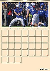 American Football. Rau, spannend, kraftvoll (Wandkalender 2019 DIN A2 hoch) - Produktdetailbild 7