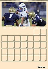 American Football. Rau, spannend, kraftvoll (Wandkalender 2019 DIN A2 hoch) - Produktdetailbild 6